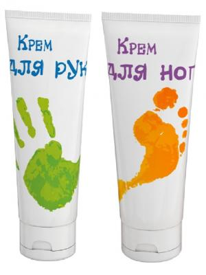 Набор кремов (Крем для рук, Крем ног) РК. Цвет: белый