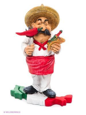 Фигурка Шеф-повар Мексика The Comical World of Stratford. Цвет: белый, красный