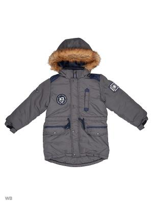 Куртка Rusland. Цвет: серый