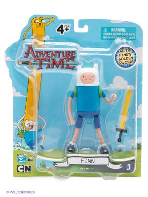 Фигурка  Stretchy Finn. Время Приключений Adventure Time. Цвет: голубой