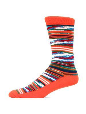 Носки HOT SOX. Цвет: оранжевый