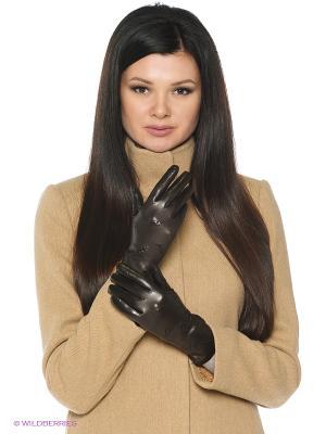 Перчатки Karma. Цвет: антрацитовый, темно-коричневый, темно-серый