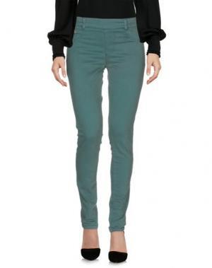 Повседневные брюки MARANI JEANS. Цвет: зеленый