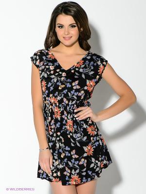 Платье New Look. Цвет: черный, красный