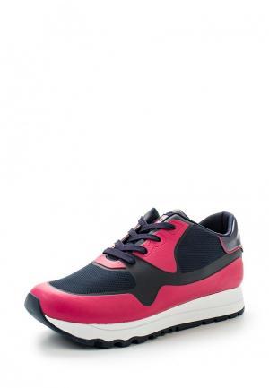 Кроссовки DKNY. Цвет: розовый