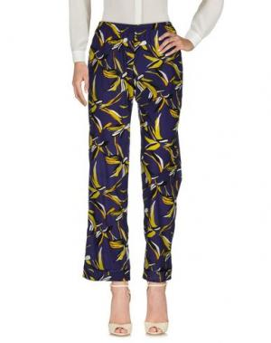 Повседневные брюки LAURA URBINATI. Цвет: темно-синий