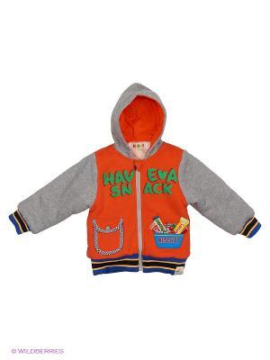 Куртка Kidly. Цвет: оранжевый