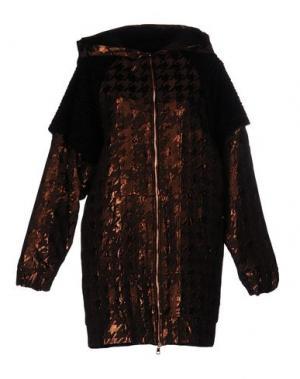Пальто DV ROMA. Цвет: темно-коричневый