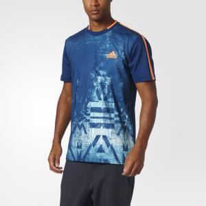 Футболка спортивная ESSEX TR TEE  Performance adidas. Цвет: оранжевый