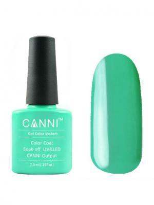Гель лак №78 CANNI. Цвет: светло-зеленый