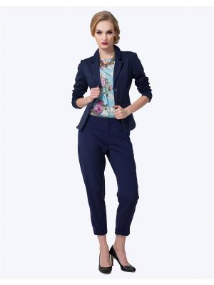 Пиджак LO. Цвет: синий