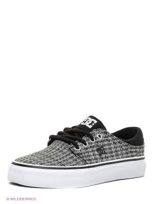 Кеды DC Shoes. Цвет: черный, серый