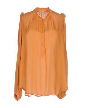 Pубашка NOLITA. Цвет: абрикосовый