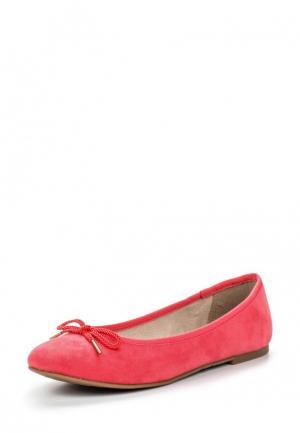 Балетки Tamaris. Цвет: розовый