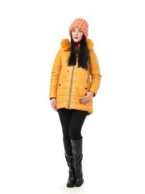 Куртка Best&Best. Цвет: желтый