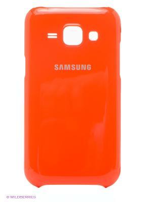 Чехол ProtectiveCover J1 Samsung. Цвет: оранжевый