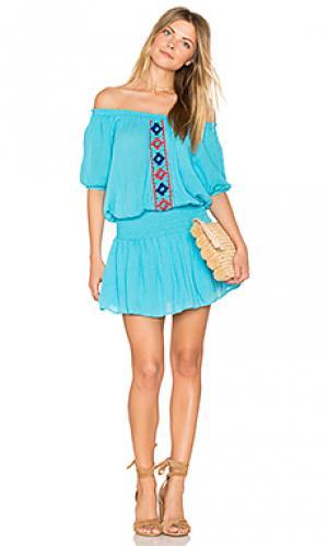 Платье brisban PIPER. Цвет: синий