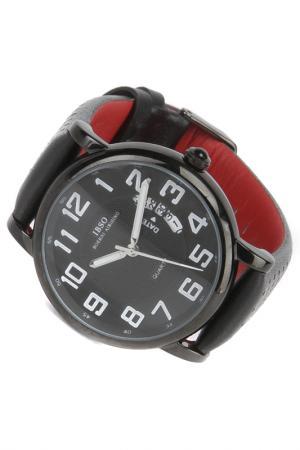 Часы на ремне IBSO. Цвет: черный, красный, белый