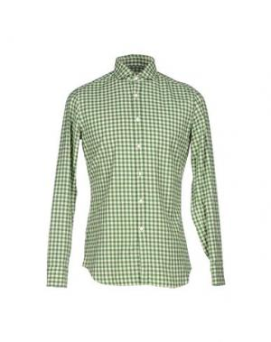 Pубашка ALESSANDRO GHERARDI. Цвет: зеленый
