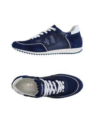 Низкие кеды и кроссовки D'ACQUASPARTA. Цвет: синий