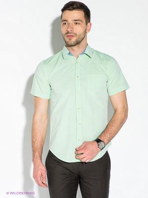 Рубашка Hazard. Цвет: светло-зеленый