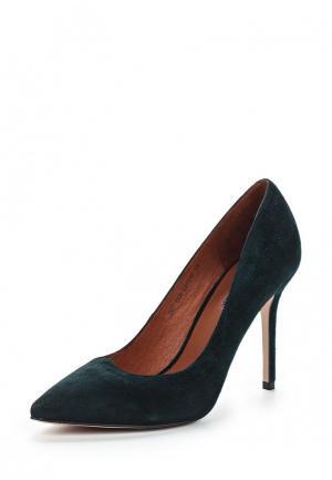Туфли Julia Grossi. Цвет: зеленый