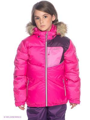 Куртка HUPPA. Цвет: розовый, фиолетовый