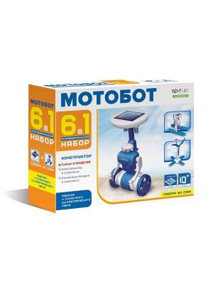 Конструктор Мотобот 6 в 1 НД плэй. Цвет: синий, белый