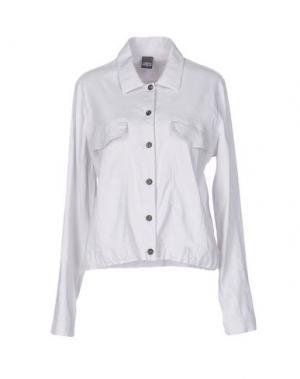 Pубашка LORENA ANTONIAZZI. Цвет: светло-серый