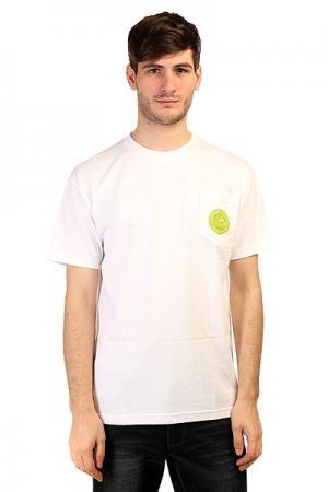 Футболка  Customs Pocket White Creature. Цвет: белый