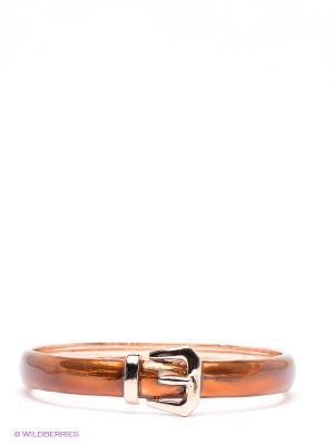 Браслет Art Silver. Цвет: коричневый