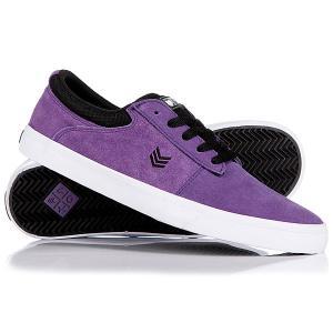 Кеды кроссовки низкие  Nova Purp/Black/White VOX. Цвет: фиолетовый