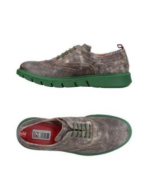 Обувь на шнурках YAB. Цвет: стальной серый
