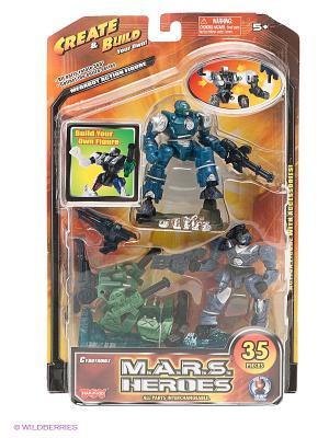 Набор Герои Марса Hap-P-Kid. Цвет: зеленый, темно-синий