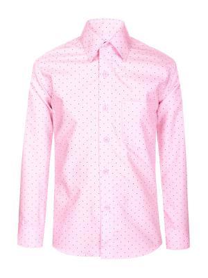 Рубашка Brostem. Цвет: бледно-розовый