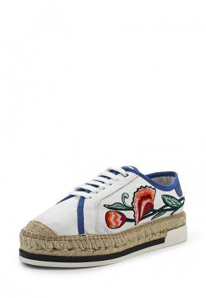Ботинки Kanna. Цвет: белый