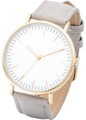 Часы в классическом стиле (серый) bonprix. Цвет: серый