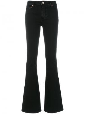 Расклешенные джинсы Htc Hollywood Trading Company. Цвет: чёрный