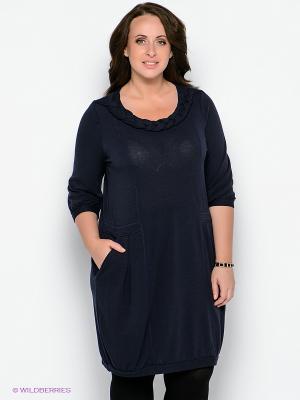 Платье Forus. Цвет: темно-синий