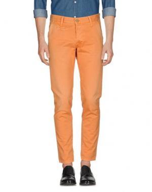 Повседневные брюки ZERO. Цвет: оранжевый