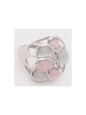 Кольцо BALEX. Цвет: серебристый, розовый, голубой