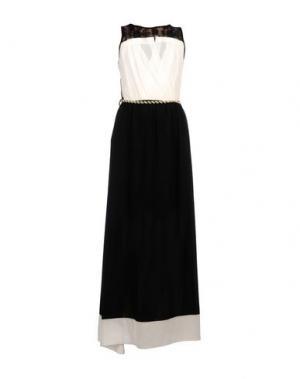 Длинное платье GIORGIA & JOHNS. Цвет: белый