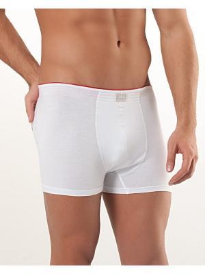 Мужские трусы Oztas underwear. Цвет: красный, белый