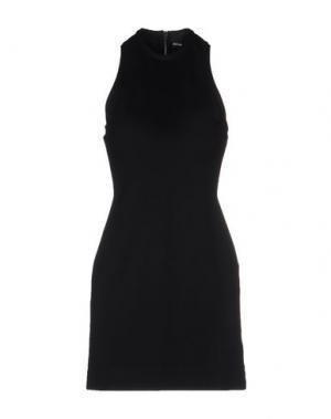 Короткое платье JOSH GOOT. Цвет: черный