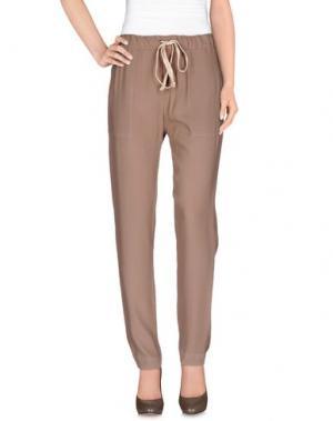 Повседневные брюки ENZA COSTA. Цвет: песочный