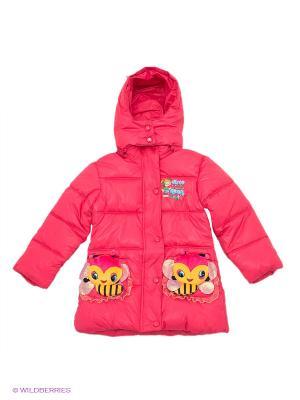Пальто Kidly. Цвет: фуксия