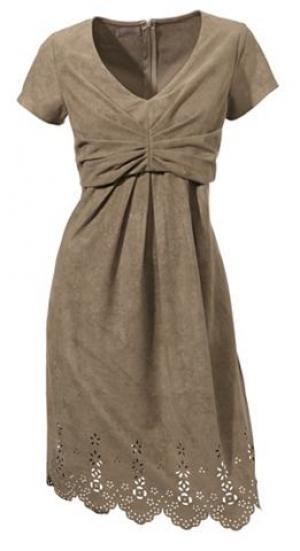 Платье MANDARIN. Цвет: серо-коричневый