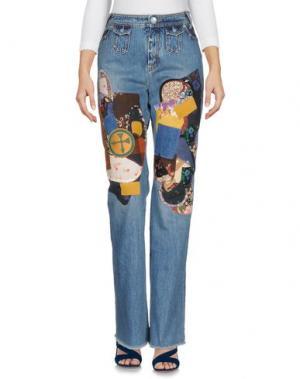 Джинсовые брюки COACH. Цвет: синий
