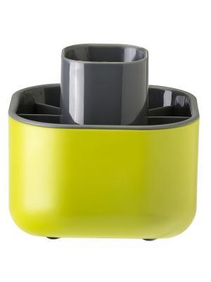 Сушилка для посуды и столовых приборов VIGAR. Цвет: зеленый