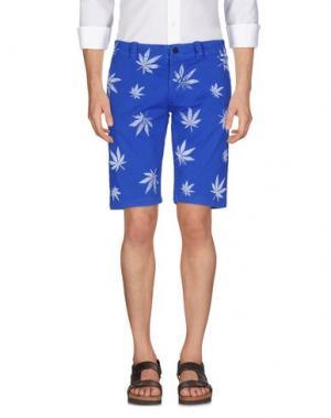 Бермуды SOHO. Цвет: синий